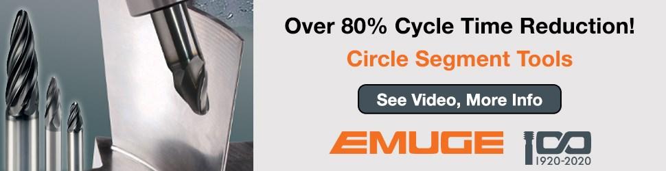 Emuge Circle Segment Tools