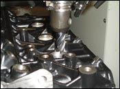 engine block repair work