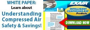 Compressed Air Safety and Savings