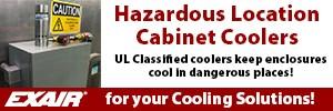 EXAIR Hazardous Location Cabinet Coolers