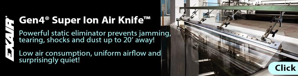 Gen4 Super Ion Air Knife