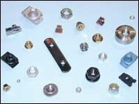 Examples of parts inspected in volume