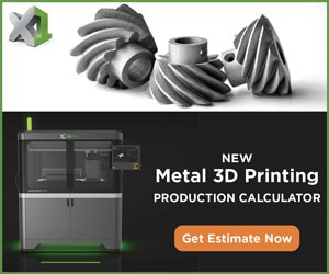 Metal 3D Printing Production Calculator