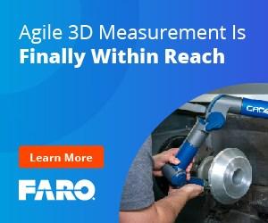 Agile 3D Measurement - Gage FaroArm®
