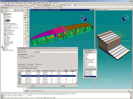 Abaqus screen shot