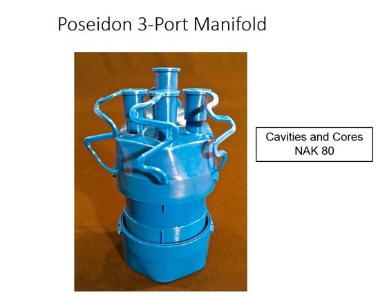 poisedon 3 port manifold
