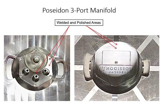 poiseidon 3 port manifold