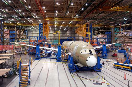 all-CFRP fuselage