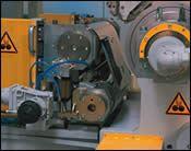 Five-layer belt polishing line