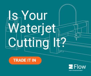 Flow - Is Your Waterjet Cutting It?
