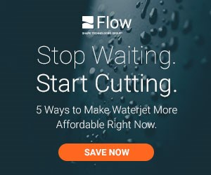 Flow - 5 Ways to Save on a Waterjet