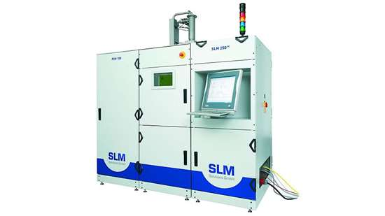 SLM machine