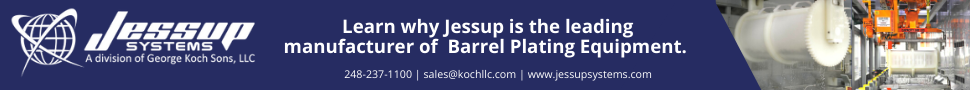 Jessup Systems Barrel Plating Ad