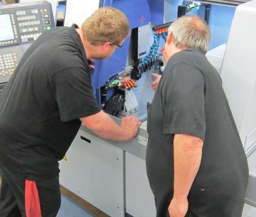 Swiss-type machining challenges