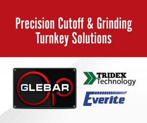 Glebar Precision Cutoff and Grinding Solutions