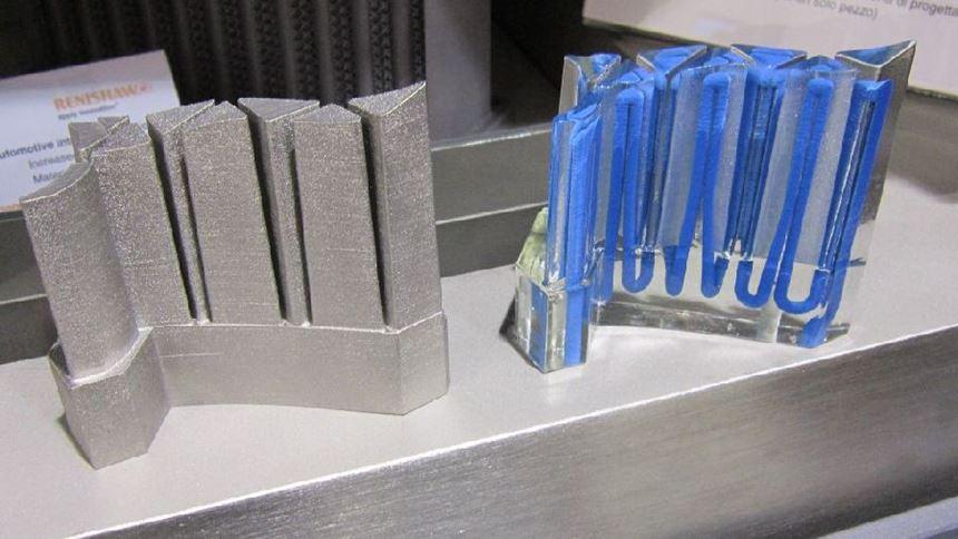 Renishaw 3D-printed mold component