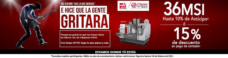 HAAS MACHINE TOOLS S.A. DE C.V.