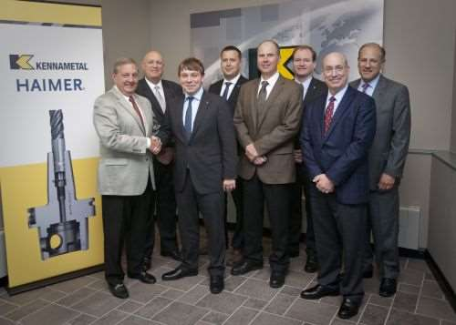 kennametal and haimer licensing agreement