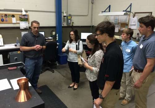 visit to Metalex Manufacturing in Blue Ash, Ohio