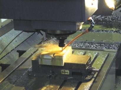 A machine tool can receive STEP-NC data