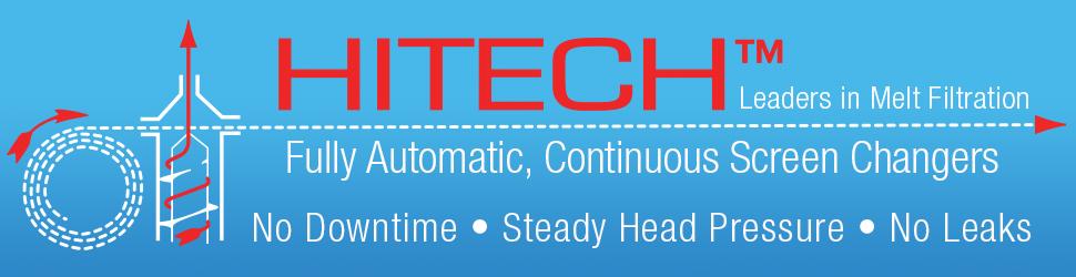 Hitech屏幕变换器聚合物熔体过滤