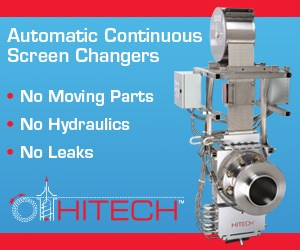 Hitech extrusion melt filtration screen changers