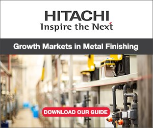 Growth Market in Metal Finishing Guide