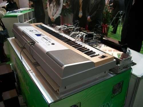 robotic piano playing demonstration