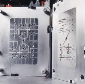 A large high-tech mold
