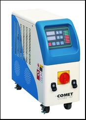 Hot-water and oil temperature controllers