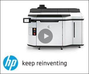 HP Reinventing 3D Printing