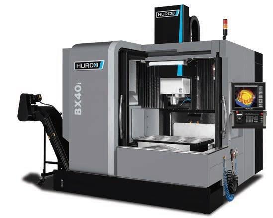 BX40i double-column bridge-type CNC machine