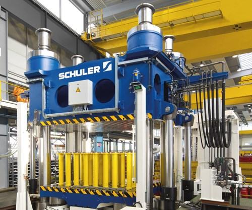 IACMI Schuler compression molding
