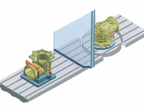 partitioned machine bed