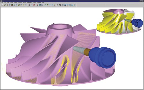 NCCS NCL software for turbine components