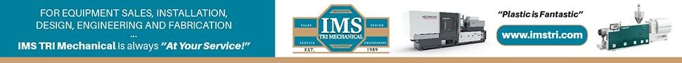 Molding Machine, IMS Tri Logo, and Extruder