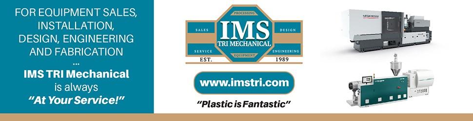 注塑机,挤出机,IMS TRI标志