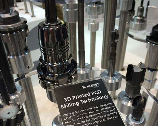 3D printed cutting tools