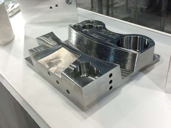 five-axis universal machining center