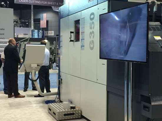GROB G350 five-axis universal machining center