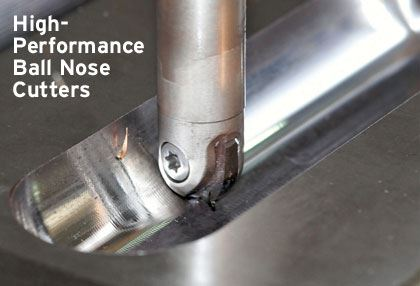 high performance ball nose cutters