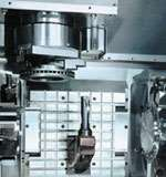 inverted-spindle vertical lathe