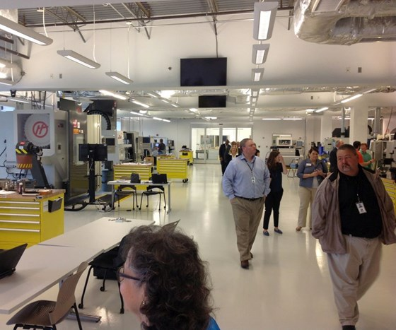 inside the Gene Haas Center for Integrated Machining