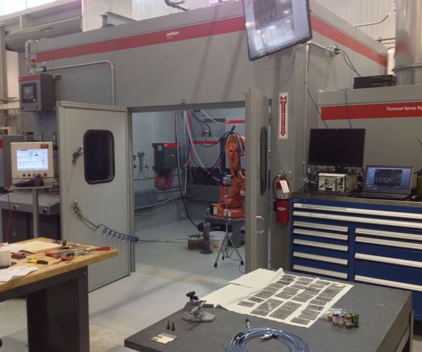 testing different metal coatings at CCAM