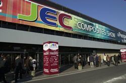 Picture of entrance to JEC exhibit hall