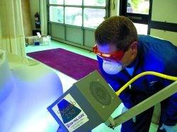 UV primer's rapid cure time