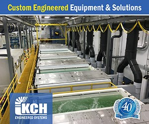 Surface Finishing Process Lines and Systems