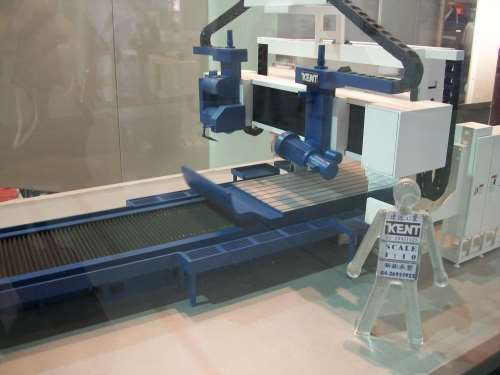 double-column grinding machine from Kent