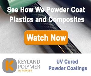 复合材料视频上的Keyland聚合物UV粉末
