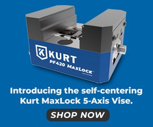 Kurt Manufacturing 5-axis Precision Force vise